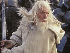 Segundo poster de personaje de The Hobbit: The Battle of the Five Armies, con Galdalf