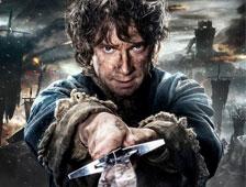 Noveno poster de personajes de The Hobbit: The Battle of the Five Armies, con Bilbo Baggins otra vez