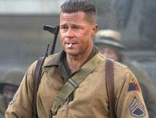 Fury de Brad Pitt y Birdman de Michael Keaton dominan la taquilla
