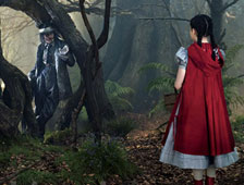 "Primera imagen de Johnny Depp como El Lobo en ""Into the Woods"" de Disney"