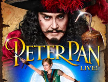 Tráiler completo del musical Peter Pan Live, con Christopher Walken como el Capitán Hook