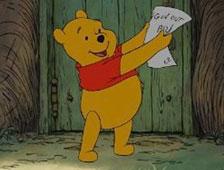 Winnie the Pooh prohibido por ir medio desnudo