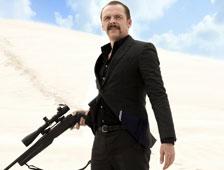 Simon Pegg es un asesino en el tráiler de Kill Me Three Times