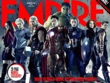 Dos nuevas portadas de revista con Avengers: Age of Ultron; primera escena revelada
