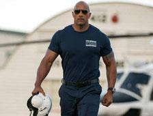 Poster de la película de terremoto San Andreas con Dwayne Johnson