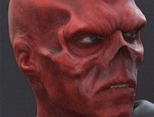 Fotos: Un fan de Capitán América se sometió a cirugías para parecerse a Red Skull