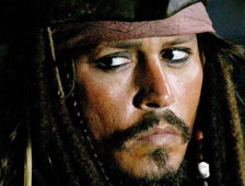 Primera imagen de Johnny Depp como el Capitán Jack Sparrow en Pirates of the Caribbean 5