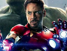 "Poster de ""Avengers: Age of Ultron"" con Iron Man"