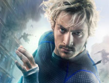 Posters de Avengers: Age of Ultron con Quicksilver y Scarlet Witch