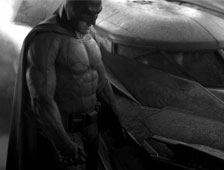 Foto: Traje completo de Batman en Batman v Superman: Dawn of Justice