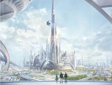 Nuevo tráiler de la película de ciencia ficción de George Clooney, Tomorrowland
