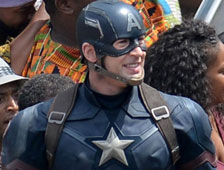 Fotos del set de Captain America: Civil War con Crossbones, The Falcon y Scarlet Witch