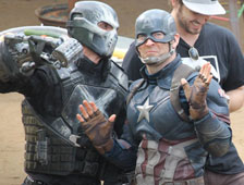 Nuevas fotos del set de Captain America: Civil War, con Paul Rudd y Robert Downey Jr