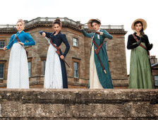 "Nuevas fotografías de ""Pride and Prejudice and Zombies"""