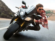 Dos escenas de acción de Mission: Impossible - Rogue Nation