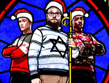 "Tráiler de la comedia ""The Night Before"", con Seth Rogen, Joseph Gordon-Levitt y Anthony Mackie"