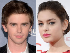 Freddie Highmore y Odeya de Rush se unen a  Holding Patterns