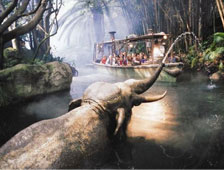 Dwayne Johnson protagoniza en Jungle Cruise, basada en el paseo del parque temático de Disney
