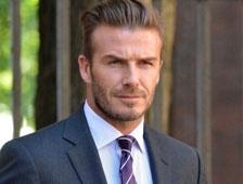 David Beckham también quiere ser el próximo James Bond