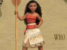 Primer vistazo a la nueva princesa de Disney Moana