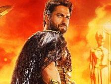 Gerard Butler es un dios en los posters de Gods of Egypt